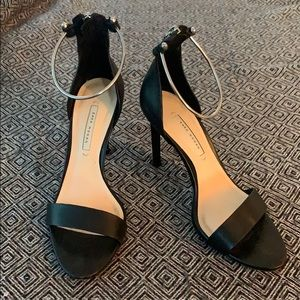Zara Women Black Heels